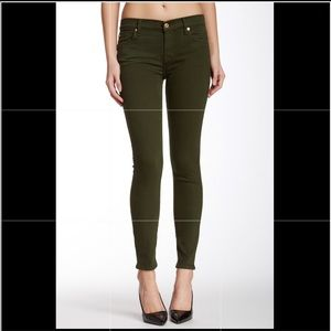 """7 for all mankind """"the ankle jean"""" size 27"""